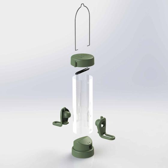 RSPB Classic easy-clean seed feeder - small product photo additional image 4 L
