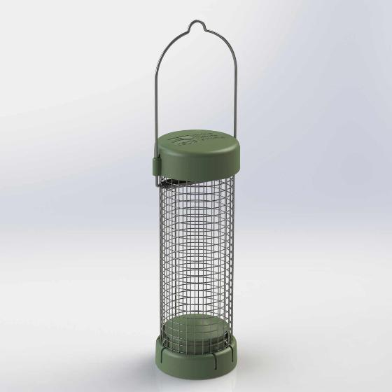 RSPB Classic easy-clean nut and nibble feeder - small product photo Front View - additional image 1 L