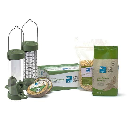 RSPB Signpost wooden feeding station special offer product photo