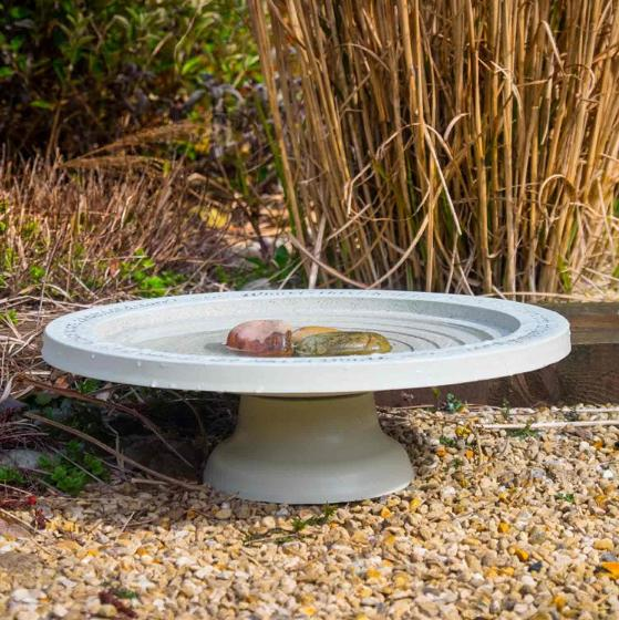 Shenstone bird bath product photo Front View - additional image 1 L