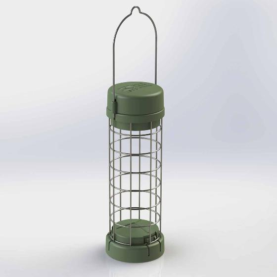 RSPB Classic easy-clean suet feeder product photo Back View -  - additional image 2 L