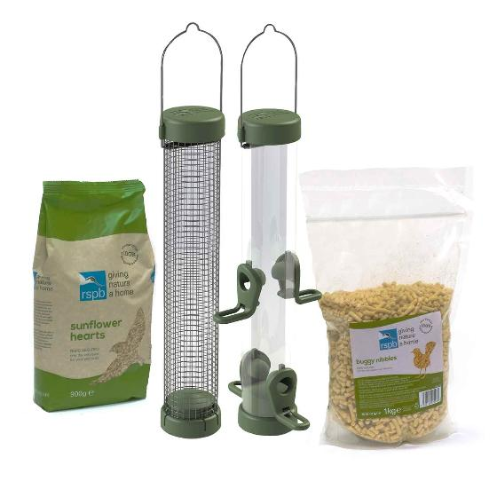 Premium shepherd's crook feeding station bundle product photo