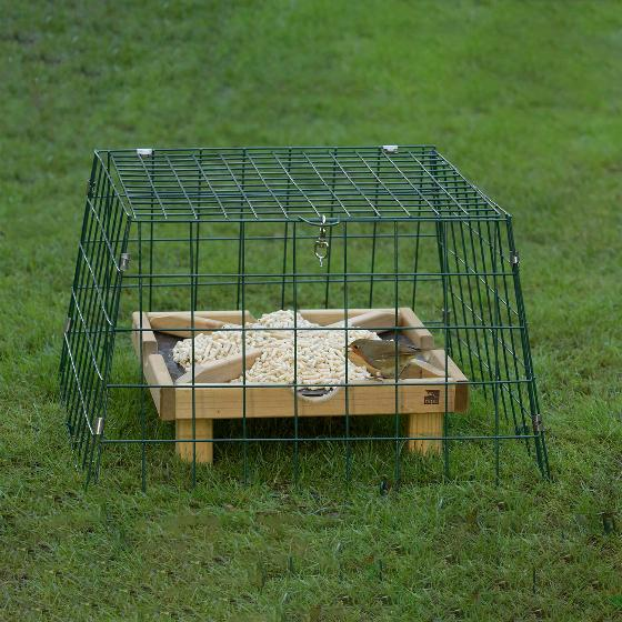 RSPB Ground feeding sanctuary wide mesh - New design product photo Default L