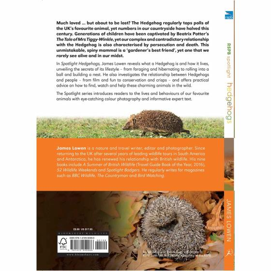 RSPB Spotlight hedgehogs product photo Front View - additional image 1 L