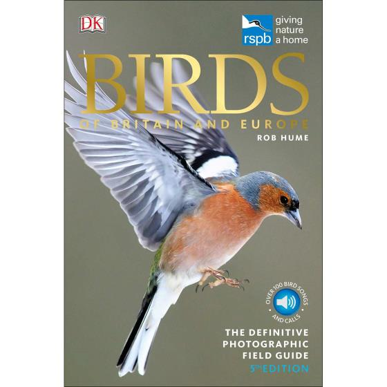RSPB Birds of Britain and Europe, 5th edition (pub. 2018) product photo