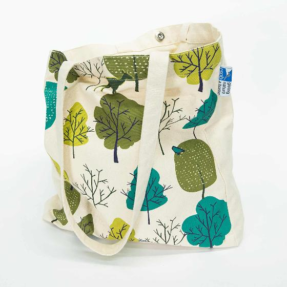 Wild wood tote bag product photo Front View - additional image 1 L
