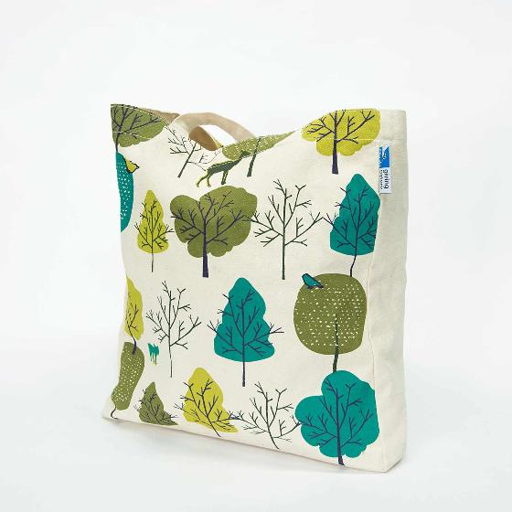 Wild wood tote bag product photo