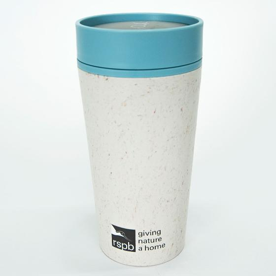 RSPB rCUP - reuseable leak proof insulated mug, 340ml product photo Front View - additional image 1 L