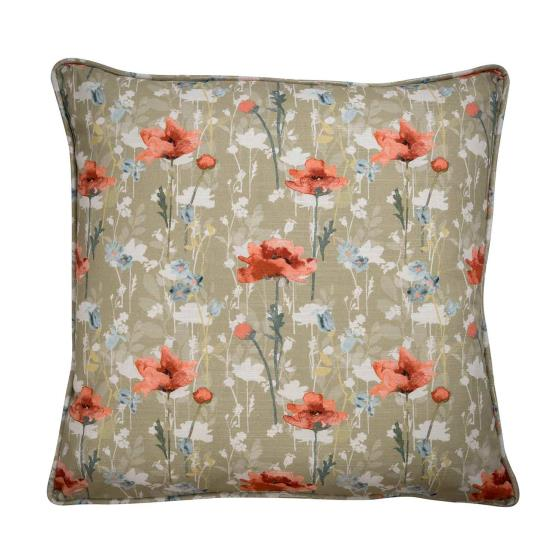 Stuart Jones RSPB cushion, poppies product photo Default L