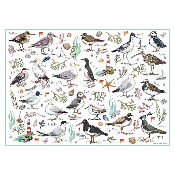 Madeleine Floyd Seabirds 500 Piece Jigsaw product photo additional image 4 L