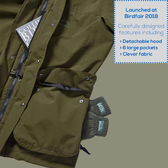 RSPB Avocet men's jacket - large product photo Side View -  - additional image 3 L