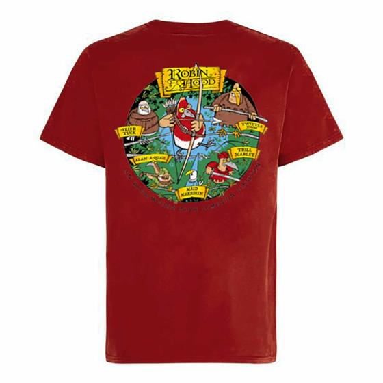 Robin Hood T-Shirt Red, Weirdfish product photo Default L