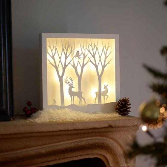 Light up forest scene product photo Default L