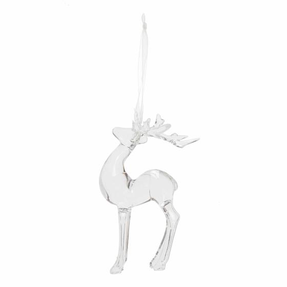 Reindeer hanging decoration product photo Front View - additional image 1 L