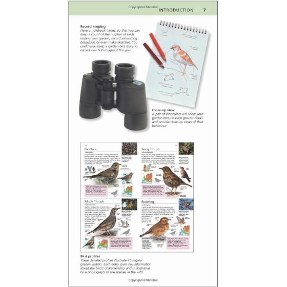 RSPB Pocket Garden Bird Watch, 3rd Edition product photo Back View -  - additional image 2 L