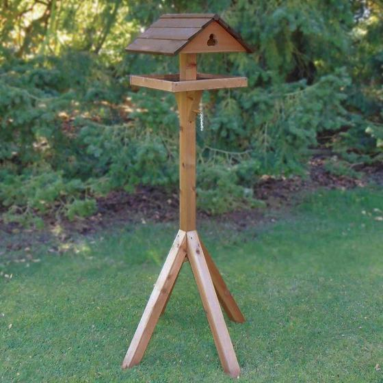 Adjus-table bird table product photo Back View -  - additional image 2 L