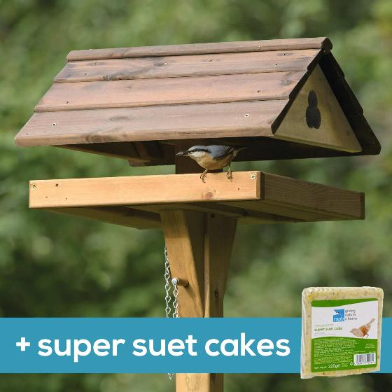 Adjus-table bird table & super suet cakes product photo Default L