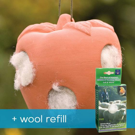 Apple wool pot with wool refill product photo Default L