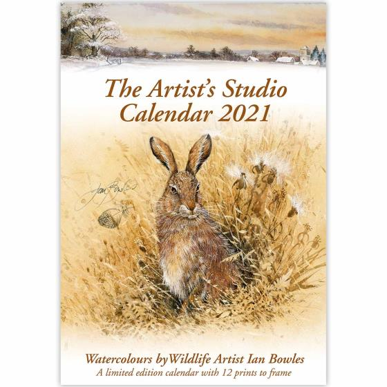 Artists Studio wall calendar 2021 product photo