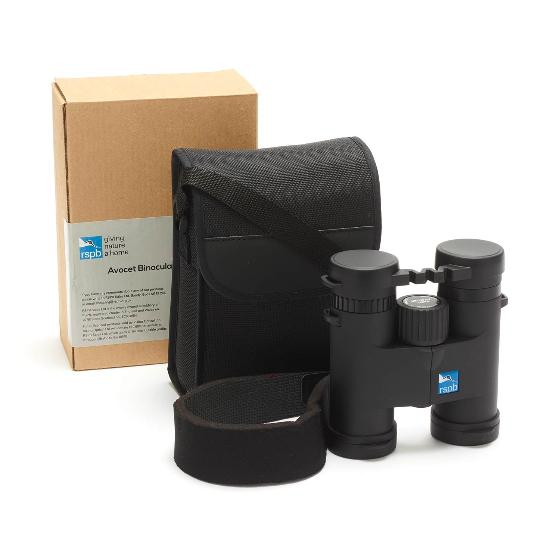 RSPB Avocet® 8 x 32 binoculars product photo Front View - additional image 1 L