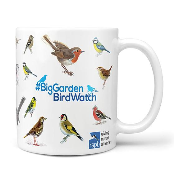 Big Garden Birdwatch mug product photo Front View - additional image 1 L