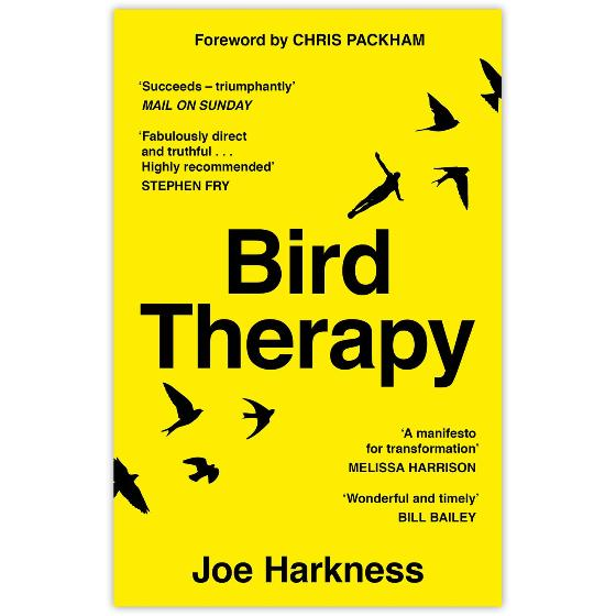 Bird Therapy by Joe Harkness (paperback) product photo Default L