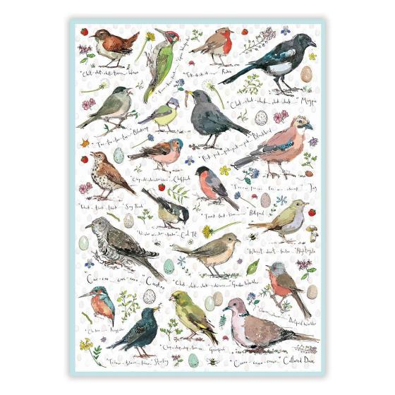 Birdsong 1000 piece jigsaw product photo Front View - additional image 1 L