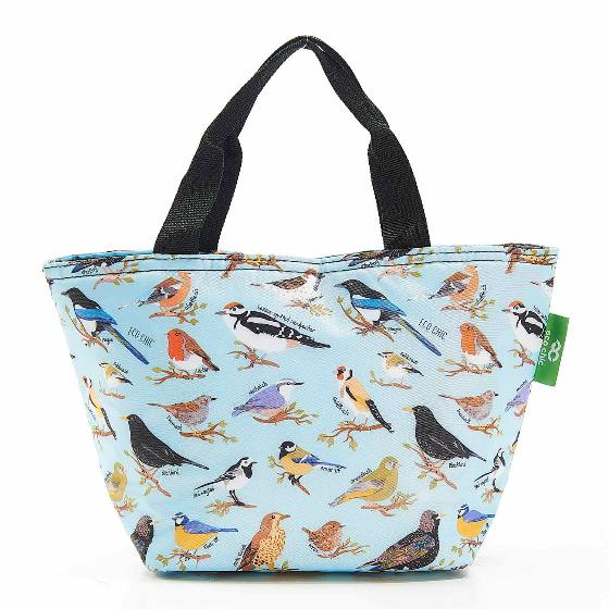 Cool bag, garden birds design product photo Side View -  - additional image 3 L