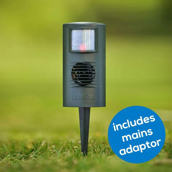 CATwatch cat deterrent with mains adaptor product photo