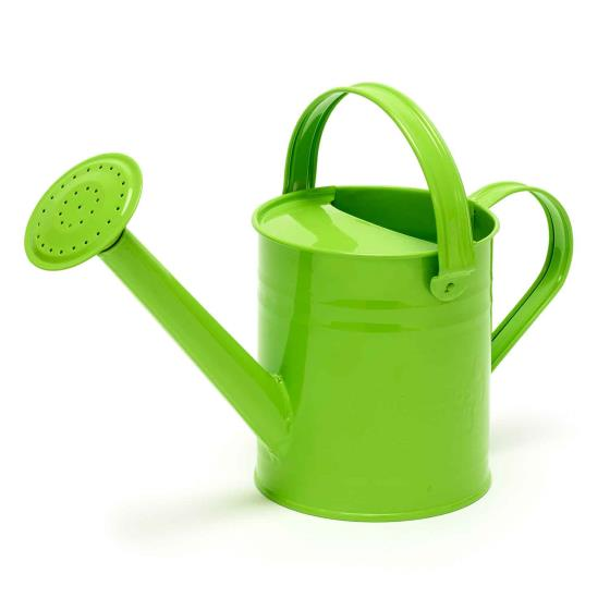 Metal watering can for children product photo