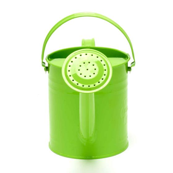 Metal watering can for children product photo Back View -  - additional image 2 L