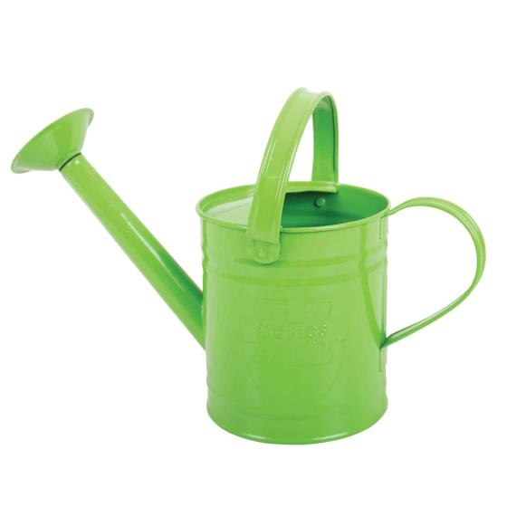 Metal watering can for children product photo Side View -  - additional image 3 L