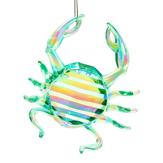 Crab tree decoration, green product photo Back View -  - additional image 2 L