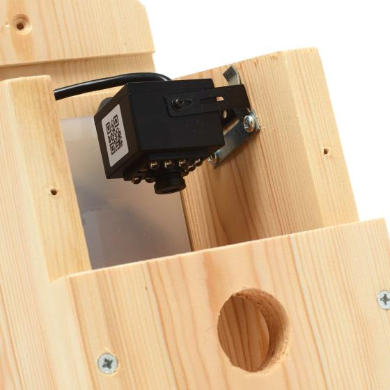 RSPB IP camera nest box system product photo Front View - additional image 1 L