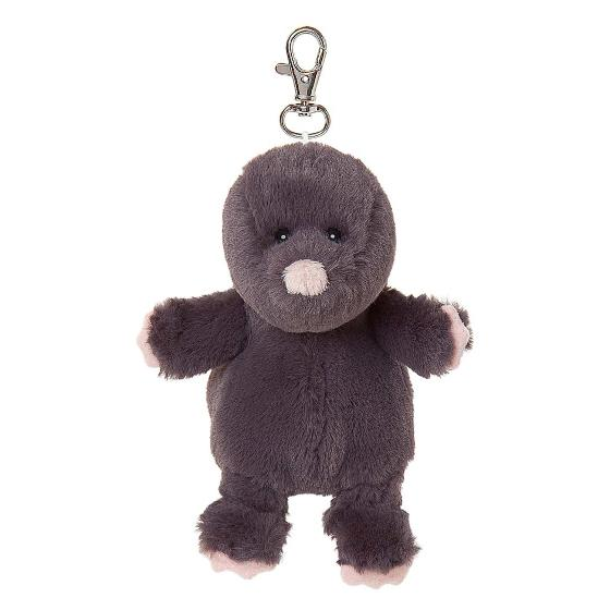 Florence the mole plush beanie keyring product photo Default L