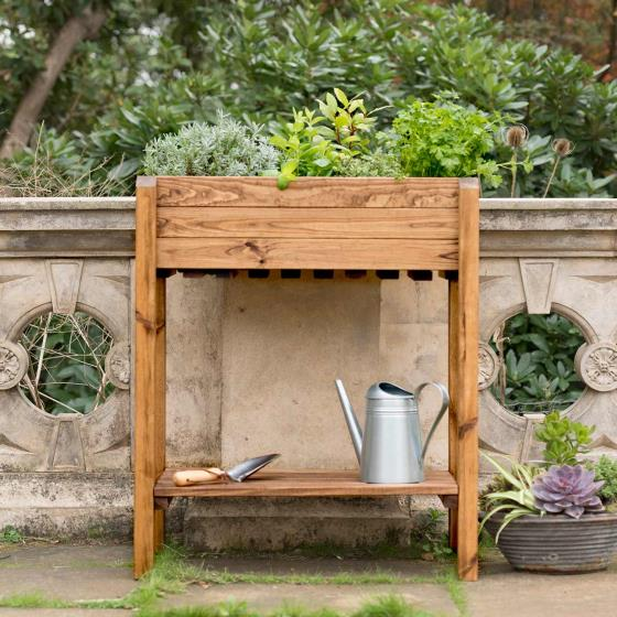 Herb planter - RSPB Garden furniture, Lodge Collection product photo Front View - additional image 1 L