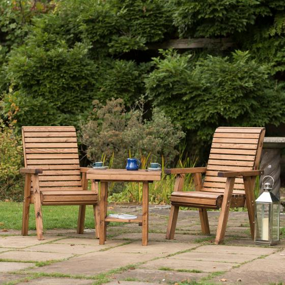 Love seat - RSPB Garden furniture, Lodge Collection product photo additional image 5 L