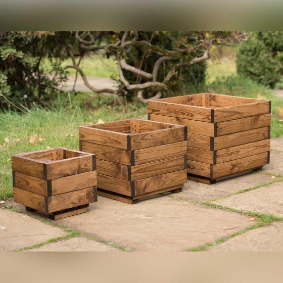 Nesting planters - RSPB Garden furniture, Lodge Collection product photo