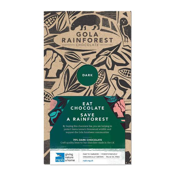 Gola Rainforest Chocolate - Dark product photo