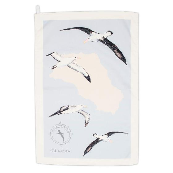 Albatross tea towel product photo