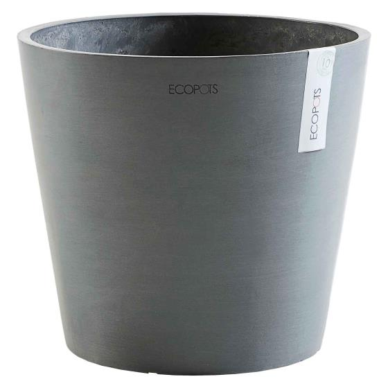 Grey eco plant pot by Ecopot product photo