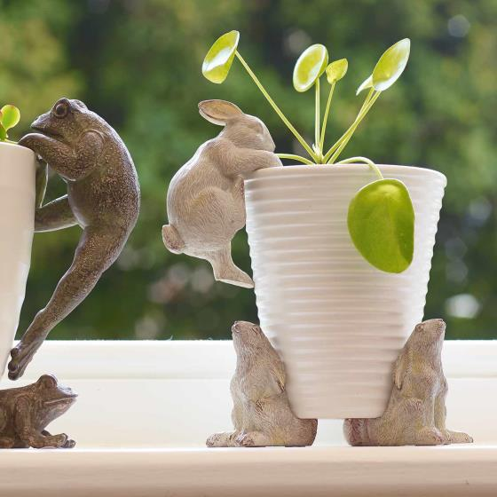 Hare pot feet, set of three product photo Side View -  - additional image 3 L