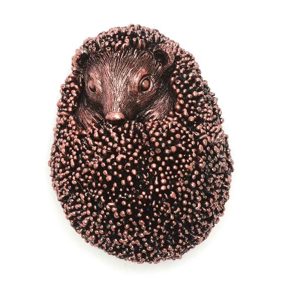 Hedgehog in a ball ornament product photo Back View -  - additional image 2 L