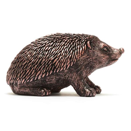 Hedgehog sculpture product photo Side View -  - additional image 3 L