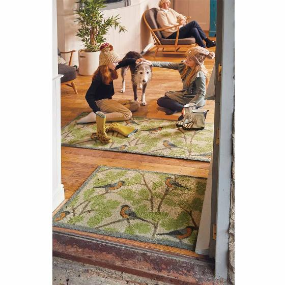 RSPB Bullfinch absorbent doormat product photo Side View -  - additional image 3 L