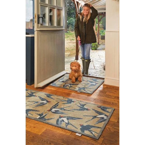 RSPB Swallows absorbent doormat product photo Side View -  - additional image 3 L