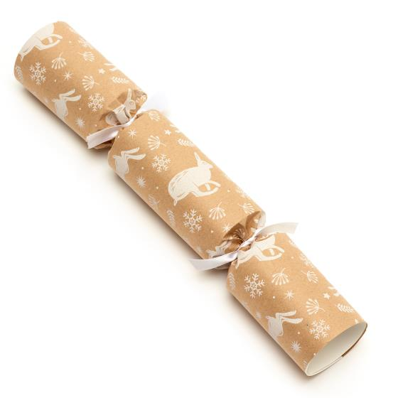 Leaping hare recycled crackers, two boxes of 6 product photo Side View -  - additional image 3 L