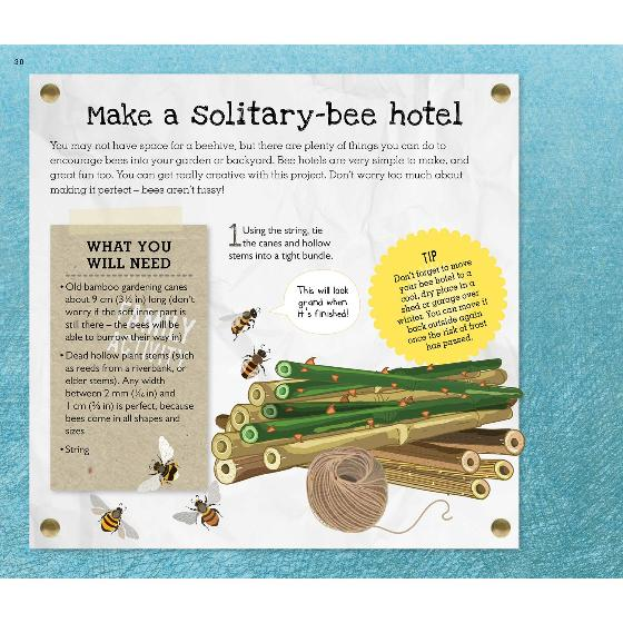 Love Bees: A family guide to help keep bees buzzing product photo Back View -  - additional image 2 L