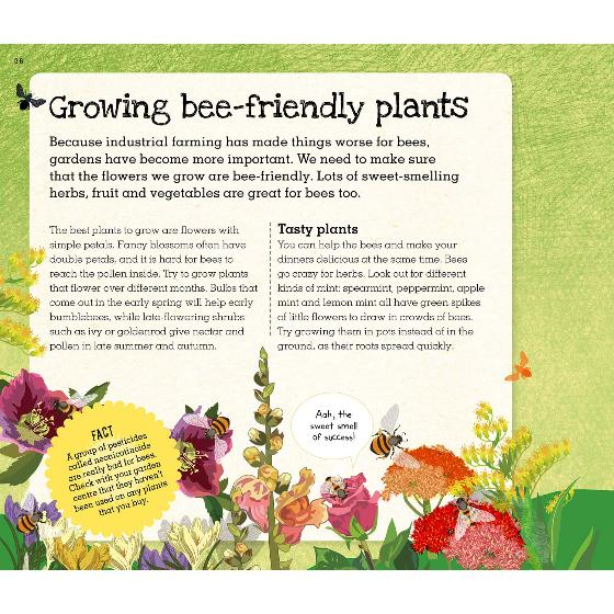 Love Bees: A family guide to help keep bees buzzing product photo Side View -  - additional image 3 L