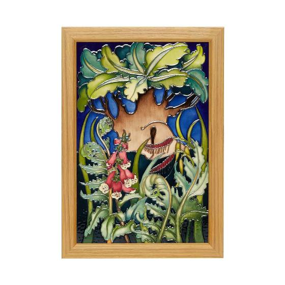Moorcroft The Major Oak plaque product photo Default L